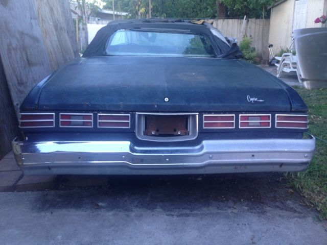 1975 Chevy Caprice Convertible Donk