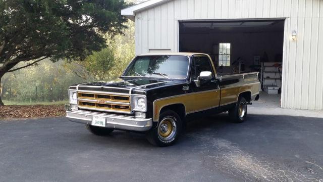 1975 Gmc Gentleman Jim Museum Show Truck 34 000 Original Miles