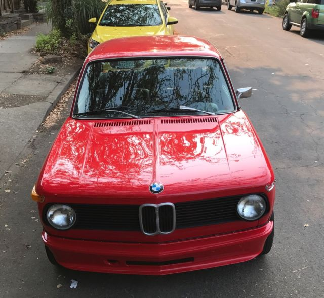 1976 BMW 2002 Sunroof