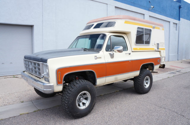 Car Dealerships In Albuquerque >> 1976 Chevrolet Blazer Chalet. Factory overland camper ...