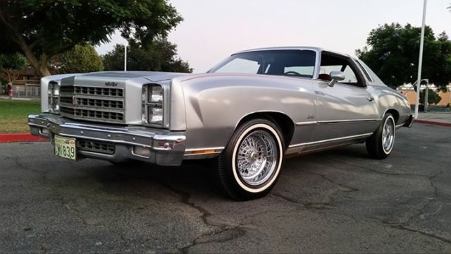 1976 Chevrolet Monte Carlo 1 Owner 1976 1978 1979 1980