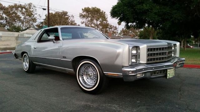 1976 Chevrolet Monte Carlo 1 Owner 1976 1978 1979 1980 Buick Regal Lowrider