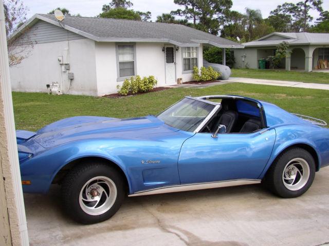 1976 corvette stingray automatic l48 77k miles. Black Bedroom Furniture Sets. Home Design Ideas