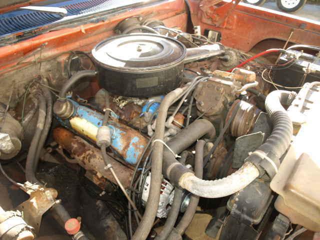 1976 Dodge D100 Half Ton 440 Big Block Pickup Truck