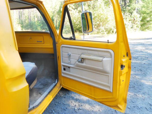 1976 ford f 100 short bed step side pick up west coast cancer free runs drive. Black Bedroom Furniture Sets. Home Design Ideas