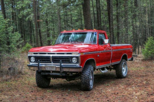1976 ford f250 xlt ranger highboy truck pickup. Black Bedroom Furniture Sets. Home Design Ideas