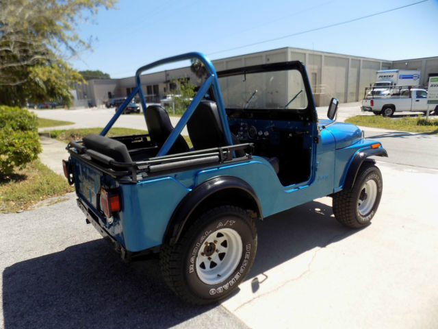 1976 jeep cj 5 3 speed manual 4x4 very clean new soft top and door runs great. Black Bedroom Furniture Sets. Home Design Ideas