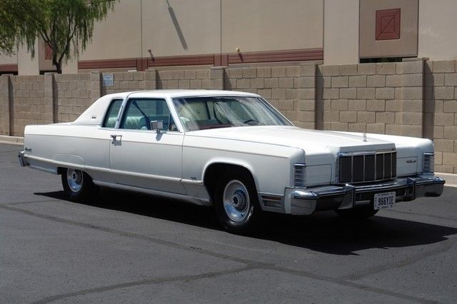 1976 Lincoln Continental Coupe One Owner