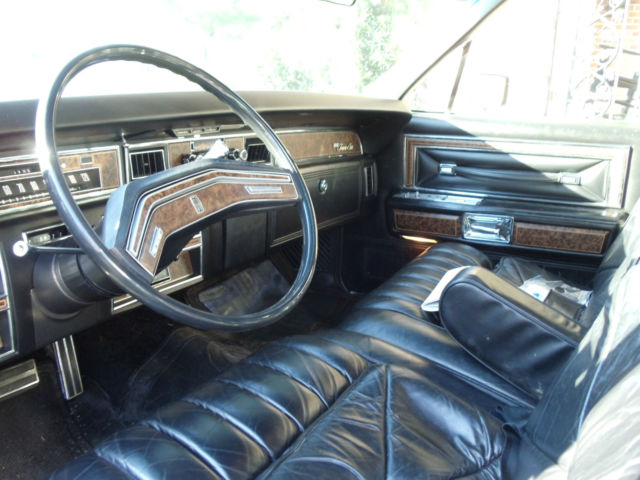 1976 Lincoln Continental Town Car One Owner 10 500 Original Miles