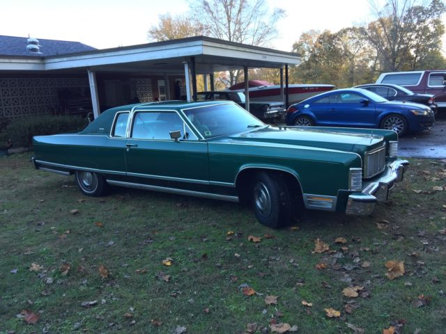 1976 Lincoln Continental Town Coupe 2 Door 7 5l