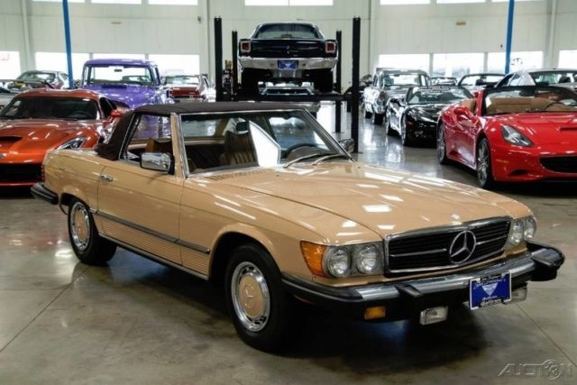 1976 sl used automatic rear wheel drive for Used mercedes benz for sale in ohio