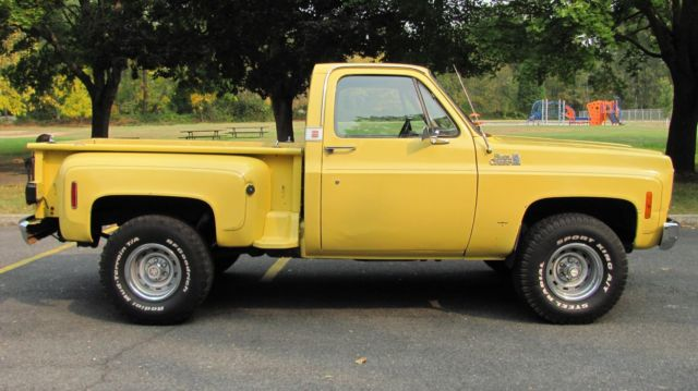 Used Cars Carson City >> 1977 77 75 76 78 CHEVY K10 4X4 PICKUP SHORT BED STEPSIDE SOLID WEST COAST TRUCK