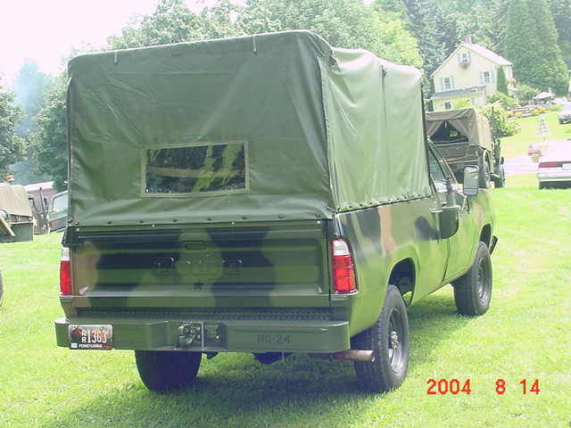 Dodge M Military Ton Power Wagon Pickup Truck M Army Surplus on 1977 Dodge Power Wagon M880