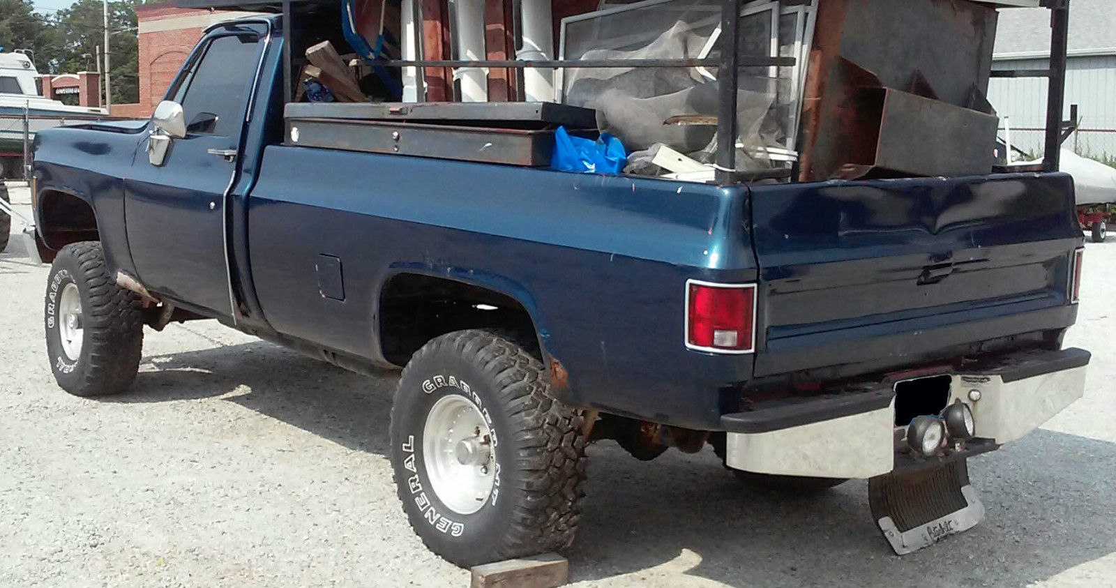 1977 chevrolet long bed 4x4 truck chevy pickup 77 Lowered Chevy C10 Long Bed