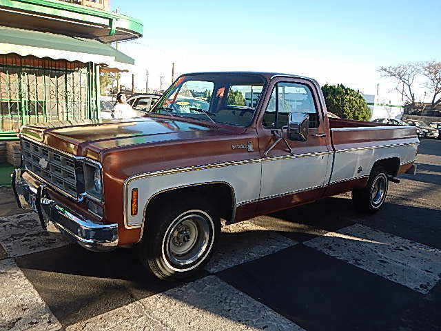 1977 CHEVY 1500 PICKUP TRUCK WEST TEXAS SOLID ALL ORIGINAL ...