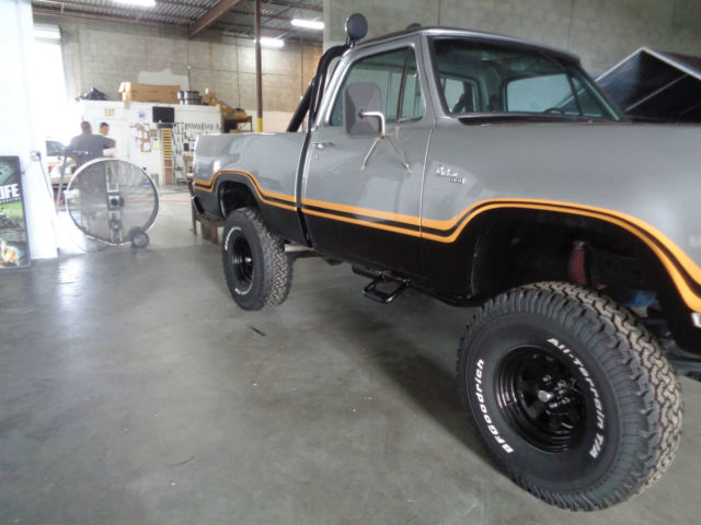 Dodge Macho Power Wagon Factory Skylight Big Block Short Bed X on 1977 Dodge Power Wagon Truck