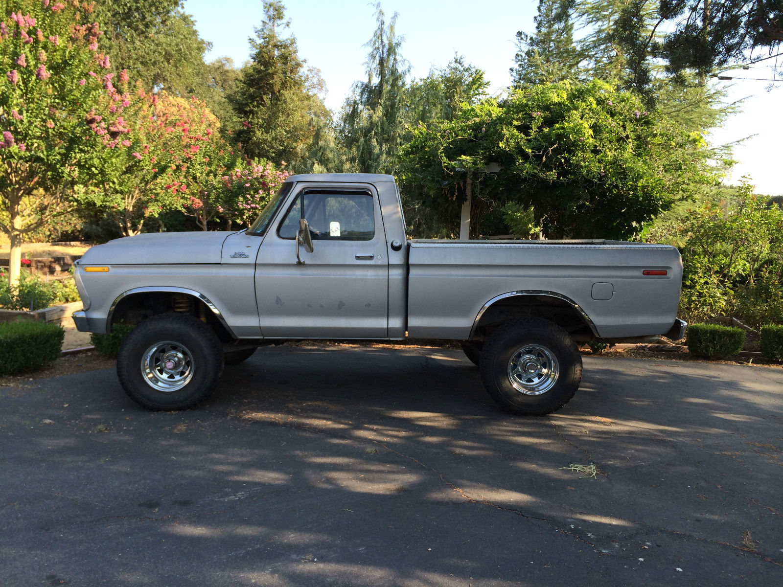 1977 ford f150 4x4 short bed 429 4spd for sale in redding california united states
