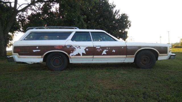 1977 ford ltd station wagon 9 inch rear end 351 400m big block. Black Bedroom Furniture Sets. Home Design Ideas