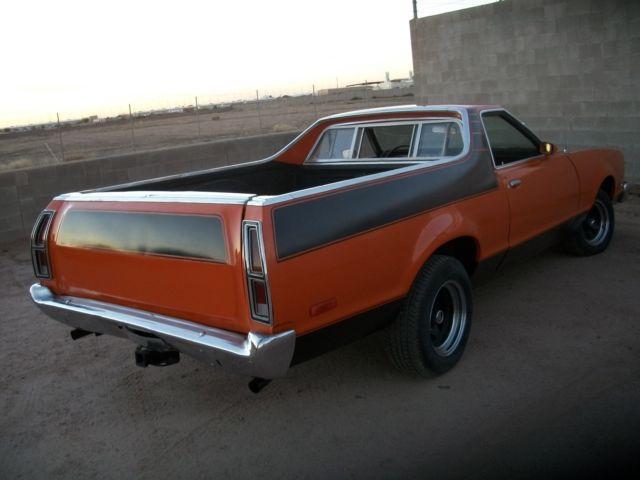 1977 ford ranchero gt