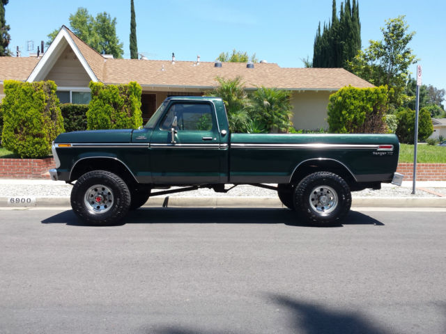 1977 ford ranger xlt f250 4x4 highboy beast 351 v8 4 speed california truck 77. Black Bedroom Furniture Sets. Home Design Ideas