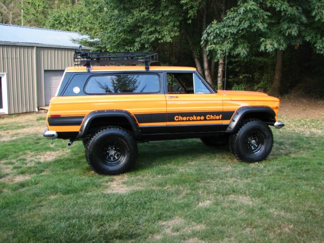 Jeep Wagoneer Lifted >> 1977 Jeep Cherokee Chief Sport Wide Track 4x4 Restored Rebuilt Lifted Wagoneer