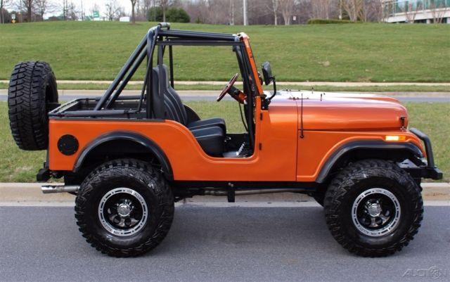1977 jeep cj brand new custom built with chevy v8 and for Cj custom homes