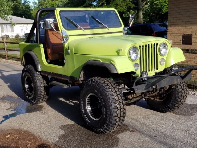 1977 Jeep Cj7 Renegade 304 V8