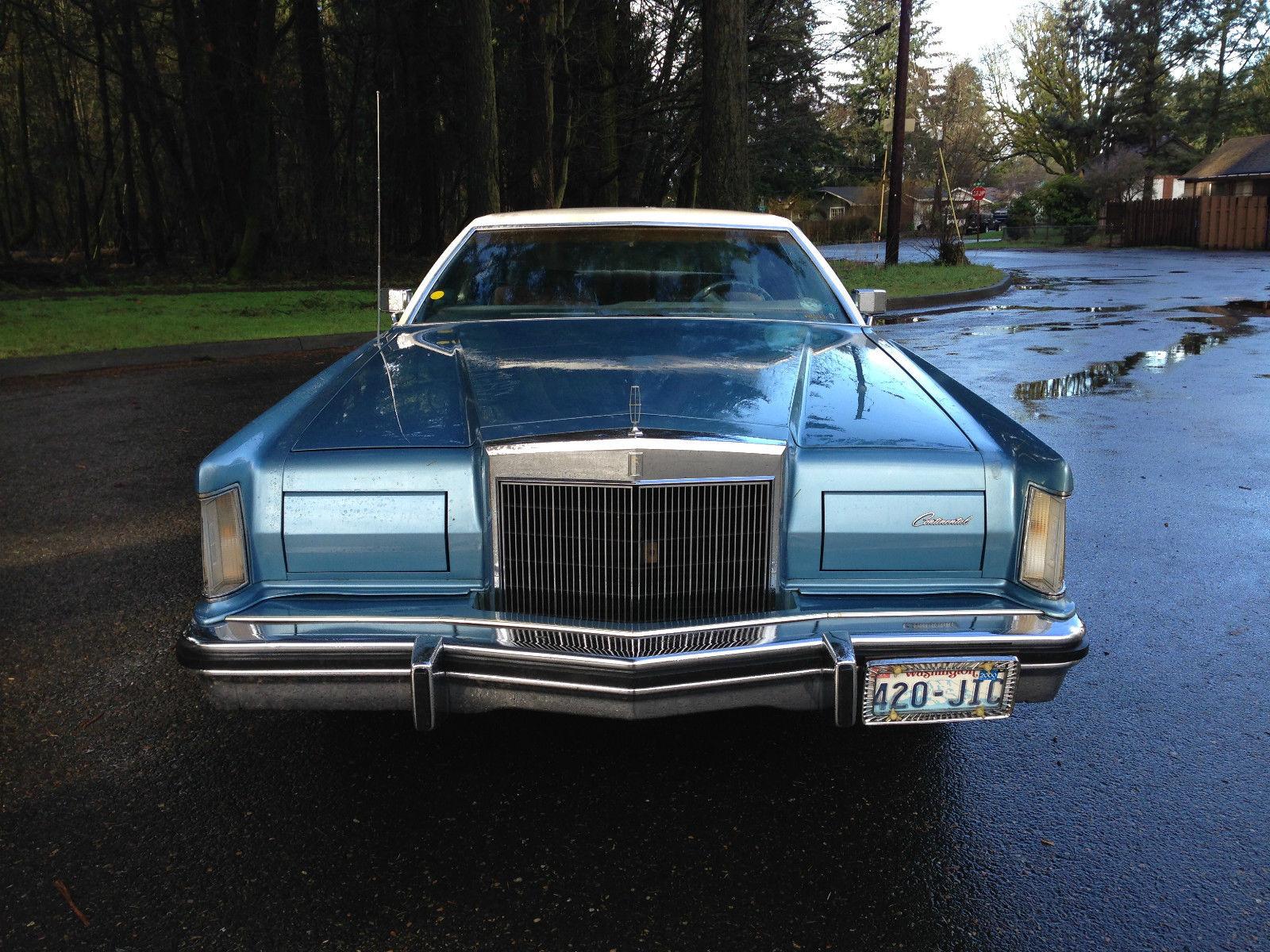 1977 Lincoln Continental Mark V 460 Engine 1976 1978