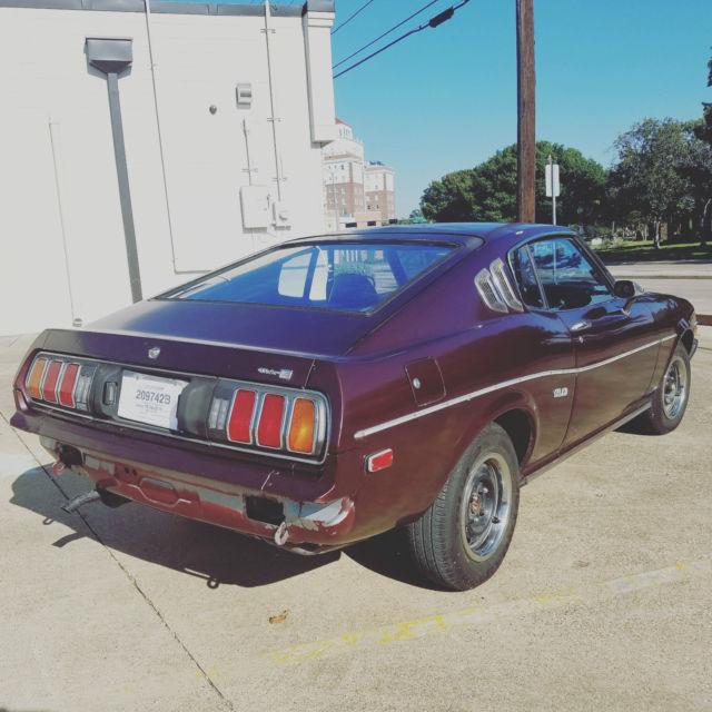 Craigslist Fort Worth: 1977 Toyota Celica GT RA29 Liftback 5 Speed 20R Fastback
