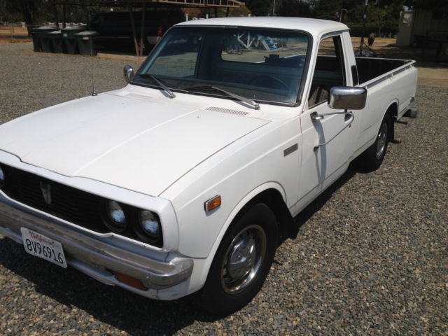 1977 toyota sr5 long bed pickup truck 20r 5 speed. Black Bedroom Furniture Sets. Home Design Ideas