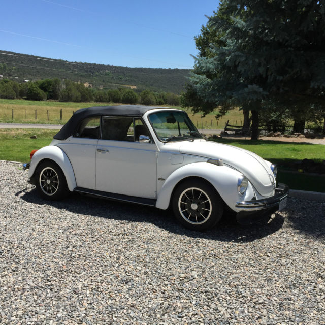 Porsche 911 Engine Vw Beetle: 1977 Volkswagen Super Beetle Base Convertible. New Engine