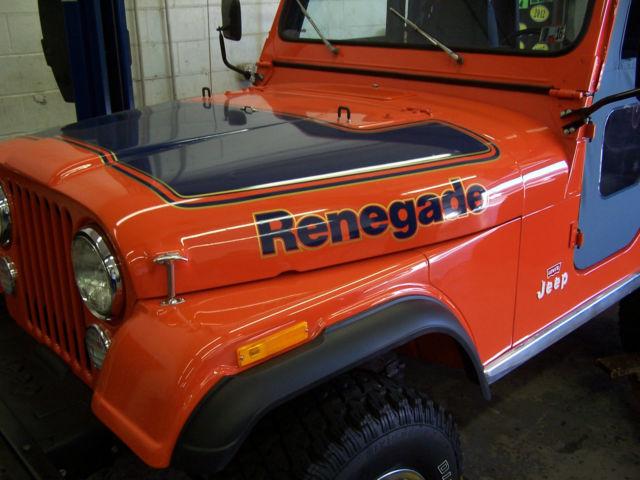 Used Jeep Renegade For Sale >> 1978 AMC JEEP CJ5 RENEGADE LEVI EDITION 304 (5.0) V8 FRAME OFF RESTORATION