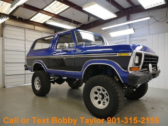 Mt Moriah Auto Sales >> 1978 Bronco Lifted Wheels Tires Custom Paint 4X4 Very ...
