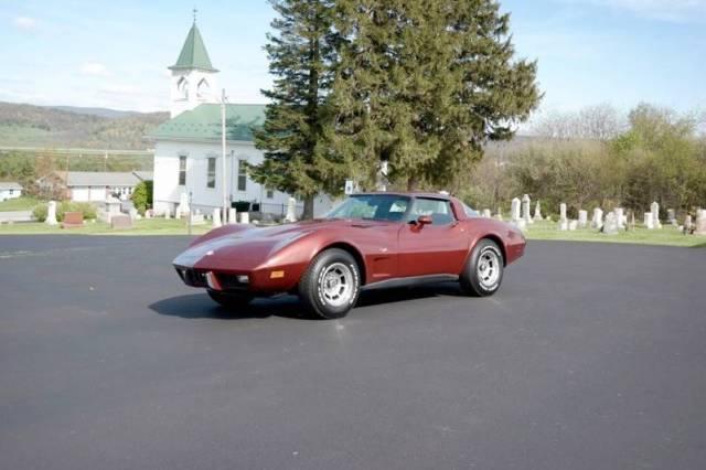 1978 Chevrolet Corvette Rare L82 4 Spd 4korig Miles Like