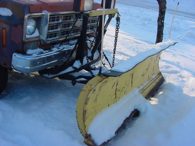 1978 CHEVY K10 C10 4X4 PLOW TRUCK PICKUP FISHER SNOW ...