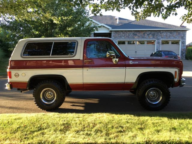 1978 chevy k5 blazer 4x4 2 door suv 350 v8 engine 39 2 39 owner like new must see. Black Bedroom Furniture Sets. Home Design Ideas