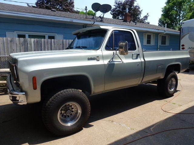 1978 chevy scottsdale 4x4 truck. Black Bedroom Furniture Sets. Home Design Ideas