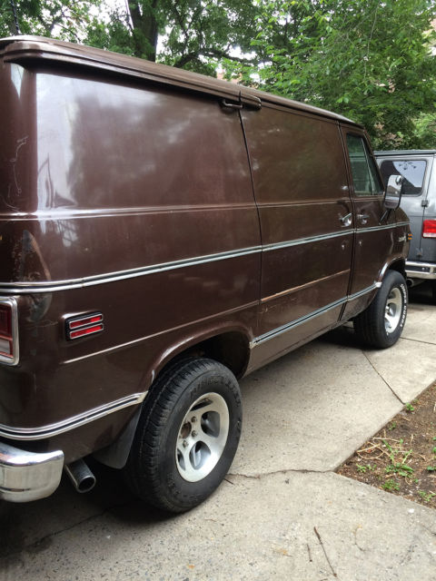 1978 Chevy VAN - SHORTY - Rare BONANZA Model - GMC G10 G20