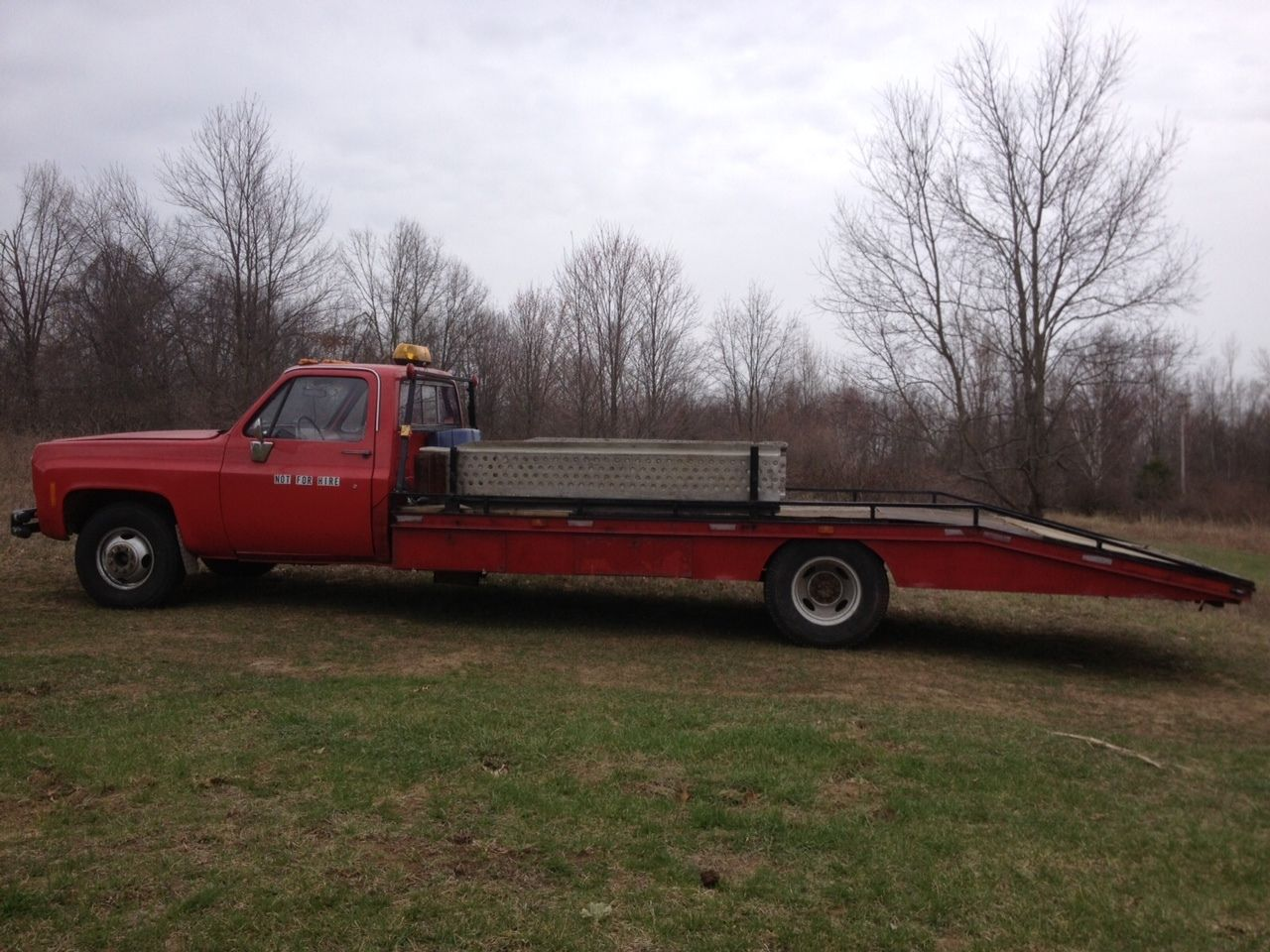 1978 Chevy Vintage Car Hauler - 21 foot Bed - Ramp Truck