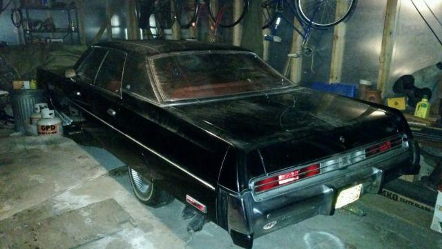 1978 Chrysler Newport, Black, 4 Door, 42K Miles