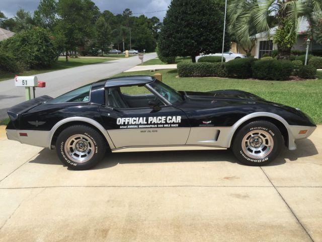 1978 corvette indianapolis pace car. Black Bedroom Furniture Sets. Home Design Ideas