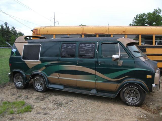 1978 dodge custom 6 wheel van. Black Bedroom Furniture Sets. Home Design Ideas