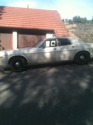 Police Cars For Sale >> 1978 Dodge Monaco 440 magnum Factory Police Pursuit survivor Highway patrol car