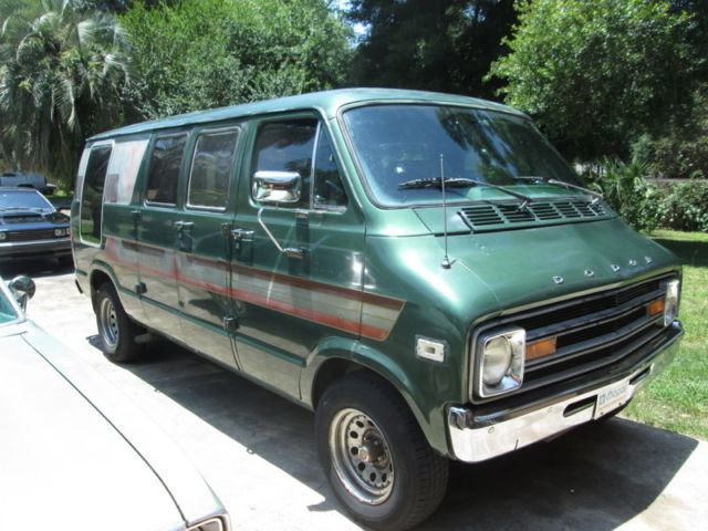 1978 dodge tradesman b200 steet van custom van royal nice. Black Bedroom Furniture Sets. Home Design Ideas