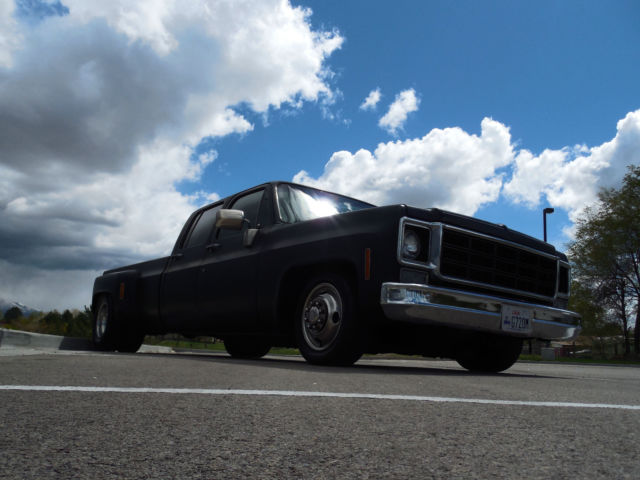 Used Cars Salt Lake City >> 1978 DUALLY C30 SLAMMED SHOP TRUCK 2WD CREW CAB NOT C10 C20 3100 BAGGED PATINA
