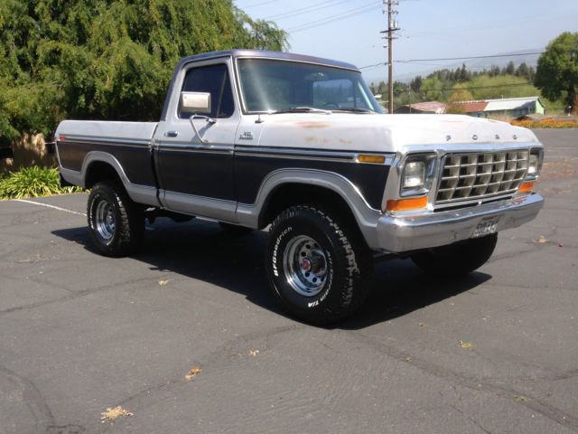 1978 ford f 150 ranger 4x4 shortbed factory ac. Black Bedroom Furniture Sets. Home Design Ideas