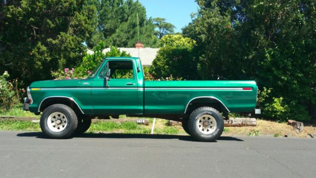 1978 Ford F-250 4x4 HighBoy 4wd pick up truck CA 1 Owner ...