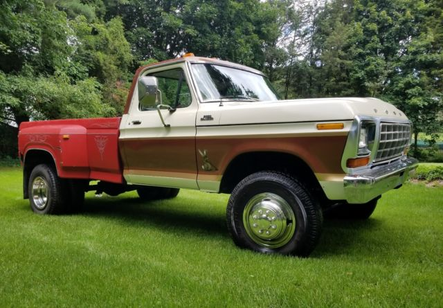 1978 ford f350 4x4 429 w dual rear wheels and dump bed 73. Black Bedroom Furniture Sets. Home Design Ideas