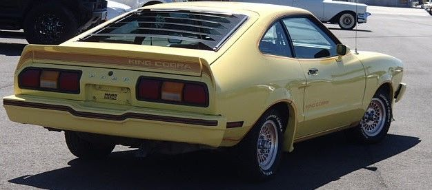 1978 Mustang King Cobra Parts