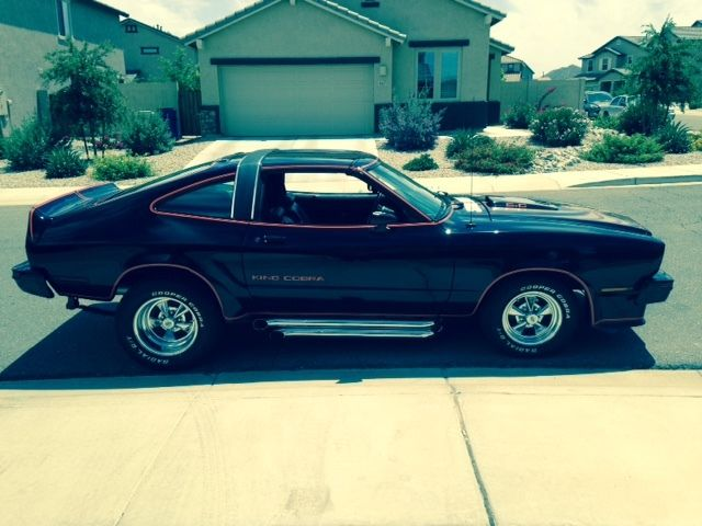 1978 ford mustang king cobra one of the two movie cars from the zookeeper movie for sale in san. Black Bedroom Furniture Sets. Home Design Ideas